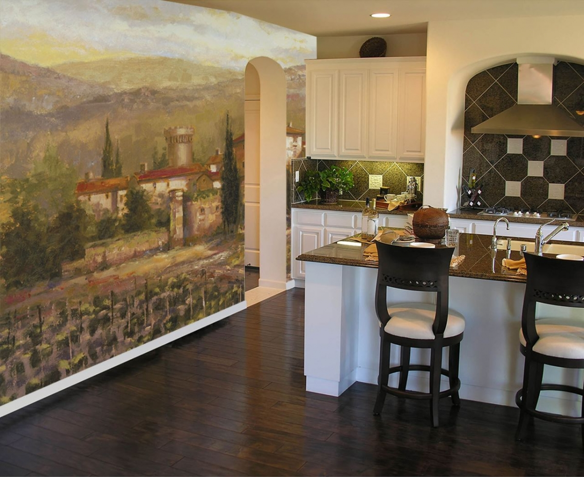 мармелад ремонт кухни с фотообоями словам