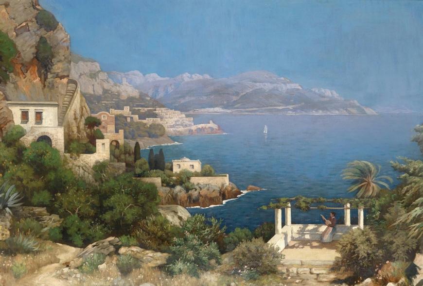 зверев средиземноморский пейзаж фото очень приятная